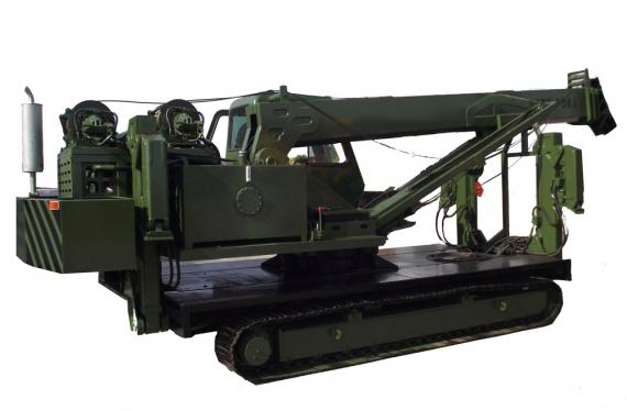 小型履带式起重机