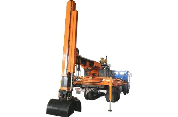 高铁专用垂直挖坑机
