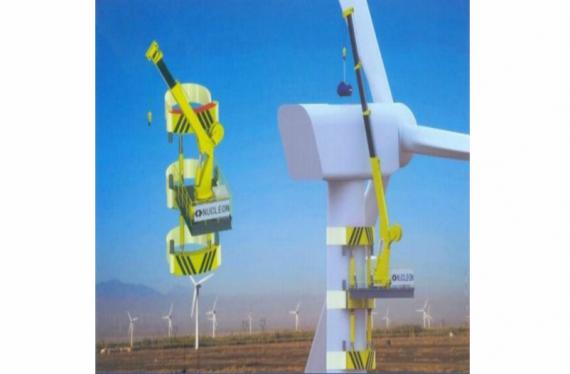 河南风能发电自备吊机