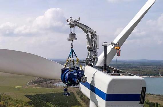 风能发电自备吊机价格